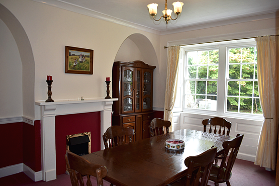 Dining Room Devon holiday letting