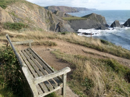 Walk the coast path around Harland peninsular