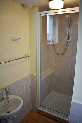 Shower room and toilet vacation property