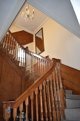 Staircase in listed property devon